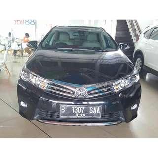 toyota altis v corolla new 1.8 bensin A/T 2014