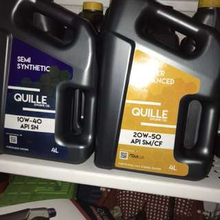 Quille Engine oil