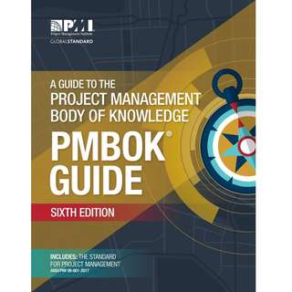 A Guide to the Project Management Body of Knowledge PMBOK Guide 6th Sixth Edition with agile practice guide