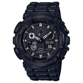 CASIO G-SHOCK GA-100 series GA-100BT 黑 GSHOCK GA100BT