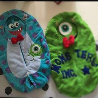 Disney Monster inc 睡袋 怪獸公司 sleeping bag