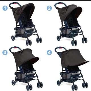 SUMMER Rayshade stroller shade (foldable)