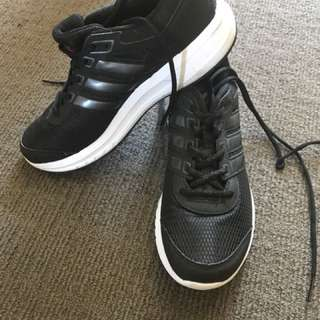 Adidas Black womens runners size 9