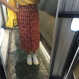Long skirt 80's