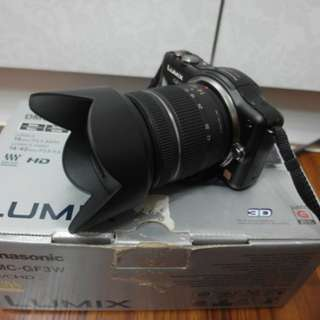 【出售】Panasonic GF3 + 14-42mm 微單眼相機