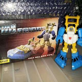 Transformers Igear Mini Warrior SEASPRAY