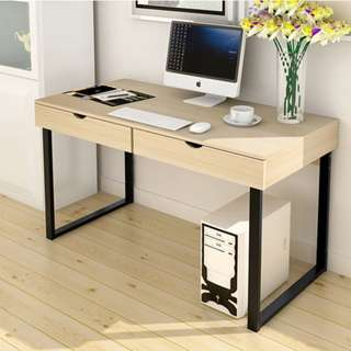 Office Table with Drawers