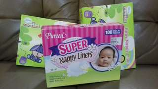 Nappy Liner Pureen