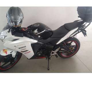 Cbr 150r fuel injection model