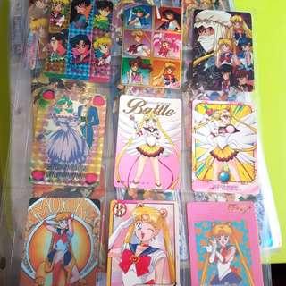 美少女戰士Sailor Moon閃卡