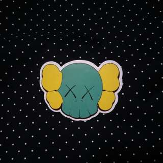 Kaws Sticker