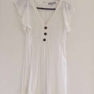 FINDERS KEEPERS White Summer Dress