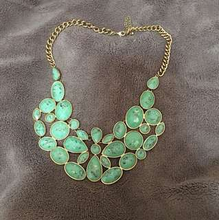 Jade/Aquamarine Necklace