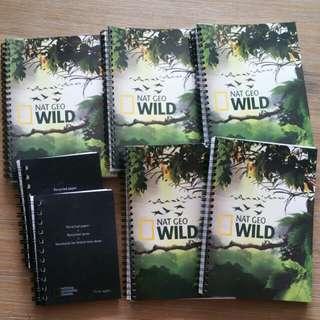 Nat Geo Wild Notebooks