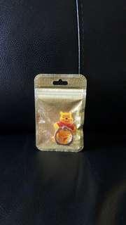 [包郵] 全新 winnie the pooh ring phone holder