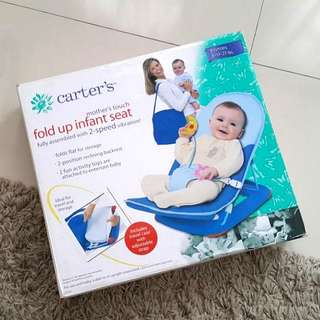 Carter's fold up infant seat