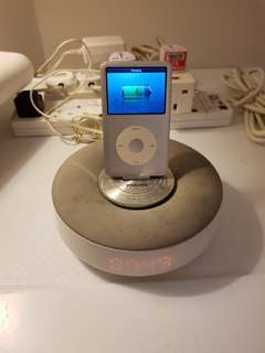 Ipod/iPhone base with great sound [ipod not for sale]
