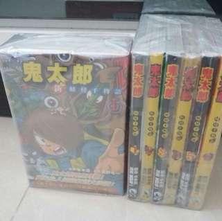 鬼太郎 1-6全&新妖怪千物語1-3全.共9本