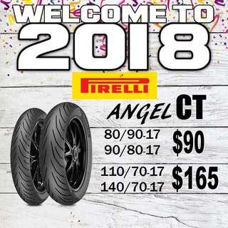 Pirelli Angel CT Promotion 2018