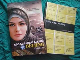 Assalamualaikum Beijing by Asma Nadia dan A Very Guppy Wedding by Ika Natassa