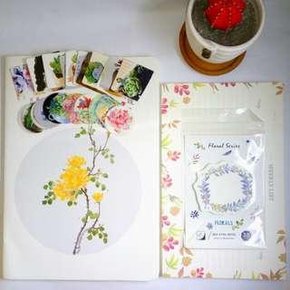 Bundle 06: Stationery Set w/ Free Journal