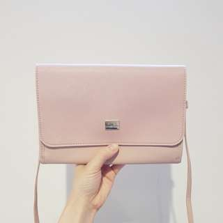 Brand New Dusty Rose Sling Bag