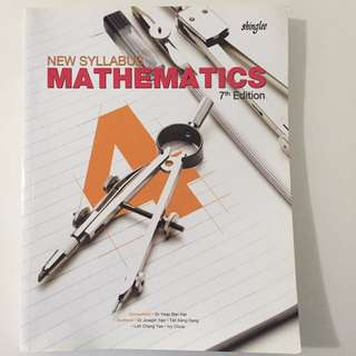 New Syllabus Mathematics 7th Edition Sec 4