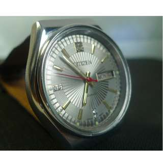 Beautiful dial, vintage Citizen automatic watch in mint condition !