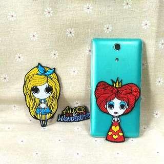 🚚 ω免運ω 刺繡貼 刺綉貼 布貼 愛麗絲夢遊仙境 紅心皇后 Disney Alice In Wonderland 迪士尼 艾麗絲