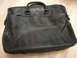 BOSS - By Hugo Boss Men's Leather Business Bag (Pre-Owned)