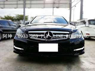 2012年 賓士 C250 AMG 頂配   有興趣+LINE:@fkd7014c 或來電 0933969713 阿坤