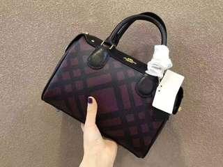 (PO) 👜 Coach Boston Handbag
