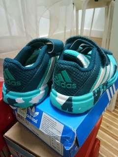 Adidas Kids Shoes camo green