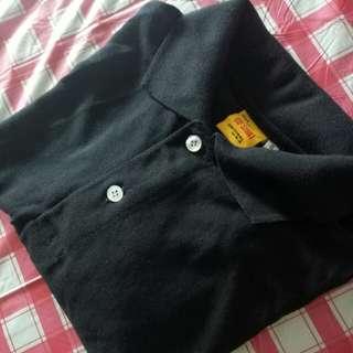 Plain Black Polo Shirt