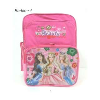 Primary School Bag For Girl - Barbie