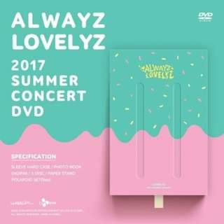 LOVELYZ - Alwayz #Lovelyz 2017 Summer Concert DVD Ver.