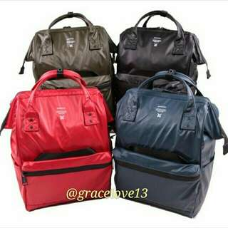 [Re-Stock] Japan Anello Limited Edition Repellency Waterproof Classic backpack~ 100% Original Authentic ☆New Release ☆OS-B001