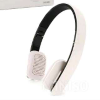 Miniso bluetooth headphone white