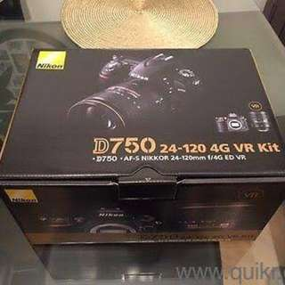 Brand New Sealed Nikon D750 body with 24-102mm lens kit