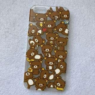 鬆弛熊iphone4/4s手機殼