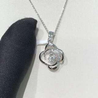 Diamond 💎 18K白金鑽石吊墜 $3250