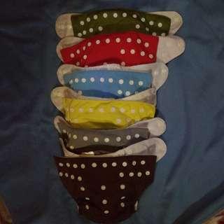Alva cloth diapers