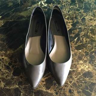 Zara Zipper Shoes