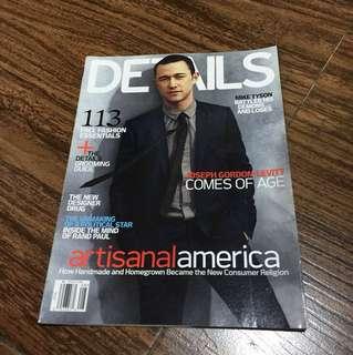 DETAILS Magazine (Joseph Gordon Levitt)