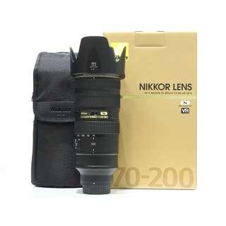 Nikon AF-S 70-200mm F2.8G ED VR II Lens