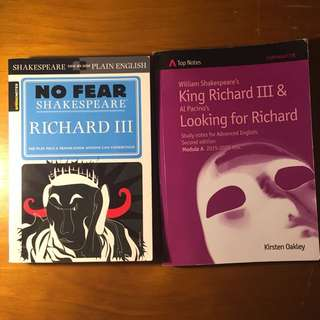 English Books - Richard III/ LFR