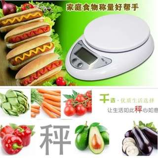 Electronic Kitchen Scale 5kg Weight Balance WH-B05