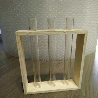 Test tubes and holder
