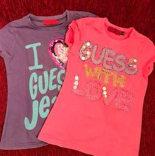 Guess T-shirt for little girl (2-3Y)