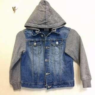 H&M Hoodie Denim Jacket